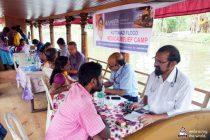 Medizinische Versorgung während der Überschwemmungen in Kerala