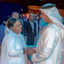 Amma und der stellvertretende Premierminister der Vereinigten Arabischen Emirate.